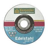Kemmler Edelstahl Trennscheibe ETS11 115x1x22,2 mm