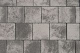 Kronimus Quadratpflaster 200x200x60 mm Schwarz-weiß Nr. 645