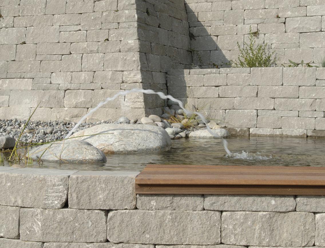 Braun Steine Santuro Landhausmauer Typ 20 20x20x2050 mm ...