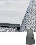 Braun Steine Randbefestigungsschiene Pave Edge Light 2000x25 mm Edge Light
