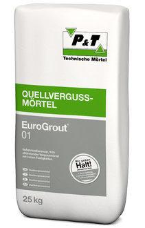 P+T EuroGrout 01 Quellvergußmörtel