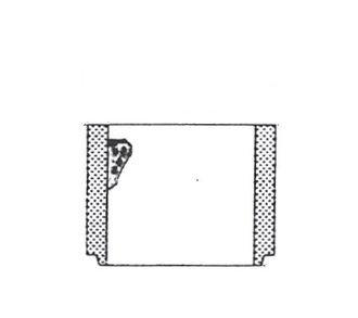Hof-Ablauf Schaft H=200mm
