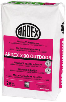 ARDEX X90 Microtec Flexkleber