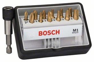 Bosch 12+1tlg. Robust Line Schrauberbit-Set M Max Grip