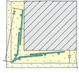 Protektorwerk Drahtrichtwinkel Innen und Außen Stahl
