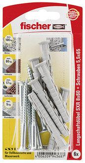 fischer Langschaftdübel SXS 8x60