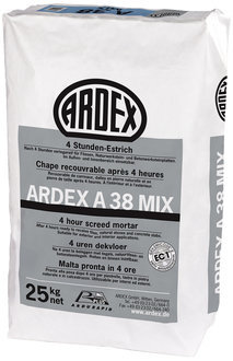 ARDEX A38 Mix 4 Stunden Estrich