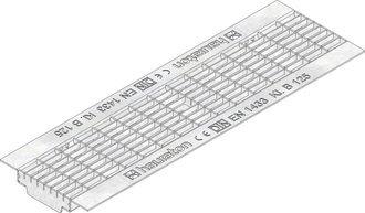 Hauraton Faserfix Standard E 100 Gitterrost