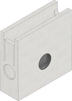 Hauraton Faserfix Standard E 100 Einlaufkasten
