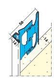 Protektorwerk Putzabschlussprofil Außen Putzdicke 14 mm
