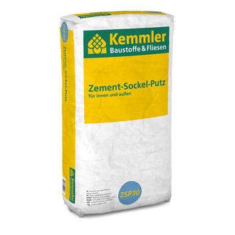 Kemmler ZSP30 Zement-Sockel-Putz