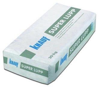 Knauf Faserarmierter Kalk-Zement-Leichtunterputz Super Lupp