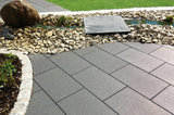 Braun Beton Terrassenplatte Pamplona 400x400x42 mm Anthrazit Nr. 161