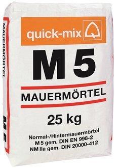 Schwenk Mauermörtel M5